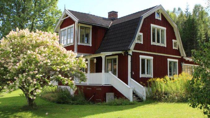 Unser Holzhäuschen in Schweden.