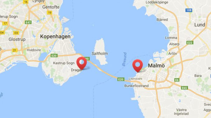 Cykelfærgen verbindet Dragør auf der dänischen mit Linhamn auf der schwedischen Seite.