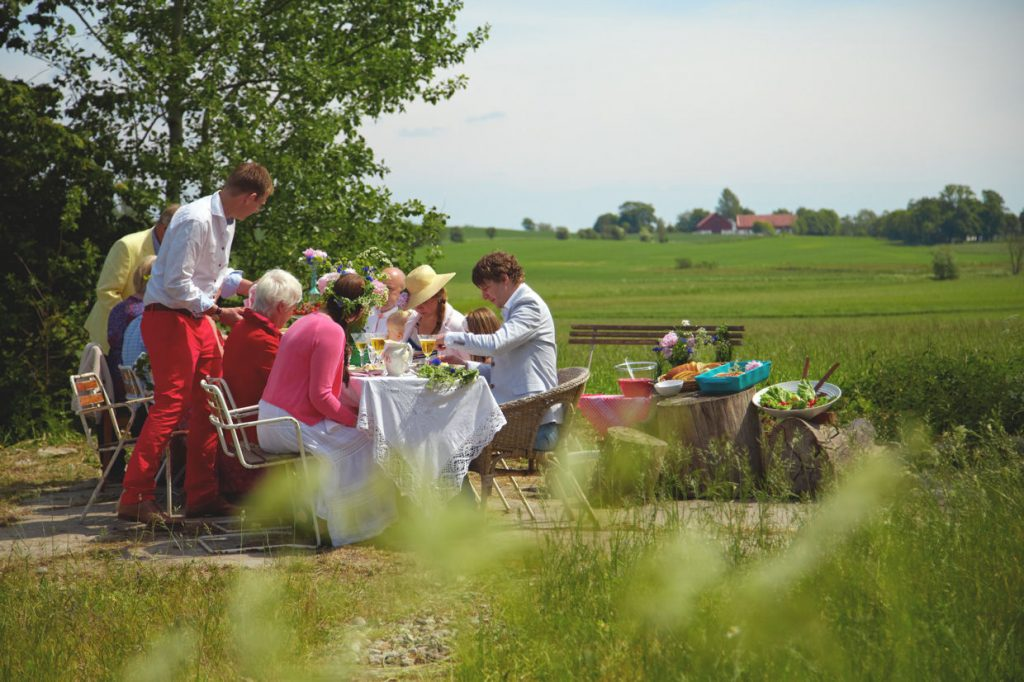 Midsommar-Lunch