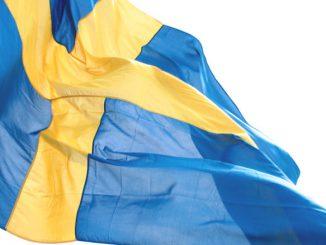 Die schwedische Flagge