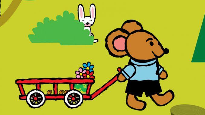 Pino, ein kleiner Teddybär, ist ein schwedischer Kinderbuch-Charakter