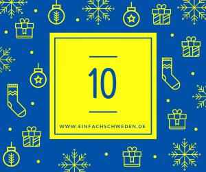 Das Adventskalender-Türchen Nummer 10.