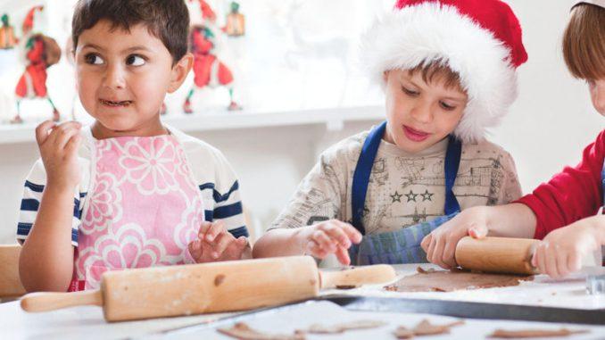 Vor Weihnachten haben die kleinen Wichtel viel zu tun