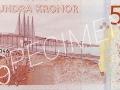 Der neue schwedische 500-Kronen-Schein
