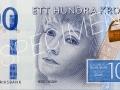 Der neue schwedische 100-Kronen-Schein