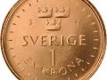 Das neue schwedische 1-Kronen-Stück