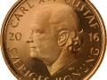 Das neue schwedische 2-Kronen-Stück