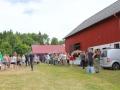 Hühnermarkt im schwedischen Domaryd.