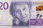 Der neue schwedische 20-Kronen-Schein