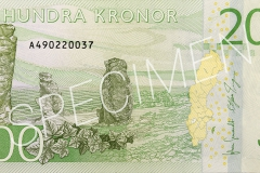 Der neue schwedische 200-Kronen-Schein