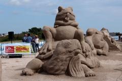 Internationales Sandskulpturenfestival in Kalmar